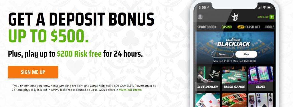 draftkings promo offer